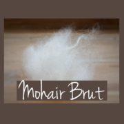 Mohair brut à filer