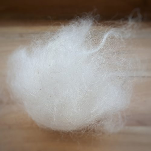 Mohair brut à filer